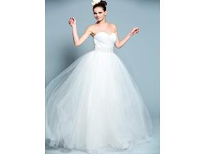ball gown sweetheart tulle lace up bridal gowns da57ae8f6f8c