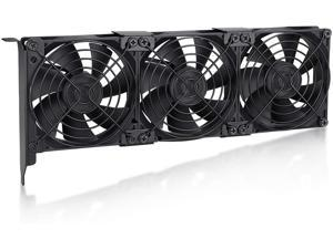 Wathai Pcl Slot Fan 90mm 92mm Fans Brushless Cooling Fan for VGA Graphic Card Cooler