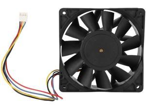 fosa Miner Mining Cooling Fan, 4000RPM Wind-force Cooling Fan Computer Mining 190.30CFM Fast Heat Dissipation Quiet Cooling Case fan, 4-Pin Connector
