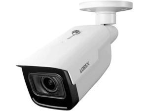 Lorex LNB9292B Indoor/Outdoor 4K Ultra HD Nocturnal Smart IP Motorized Bullet Camera, 4X Optical Zoom, 30FPS, 150ft IR Night Vision, CNV, IP67, Works with N881B/N882B Series, White, 1PK