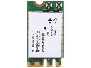 Oumij1 Network Card 2.4G+5G Dual-Band Wireless Network Card QCNFA435 NGFF/M.2 Interface for Lenovo IdeaPad