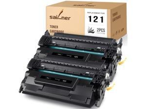 SAILNER Compatible Toner Cartridge Replacement for Canon 121 3252C001 Black use with imageCLASS D1650 D1620 (2-Pack)