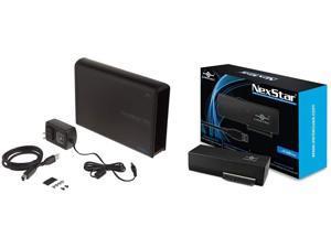 Vantec NST-536S3-BK NexStar DX USB 3.0 External Enclosure for SATA Blu-Ray/CD/DVD Drive All Black & CB-ST00U3 NexStar USB 3.0 to SATA 6Gbps Optical/Storage Adapter, Black