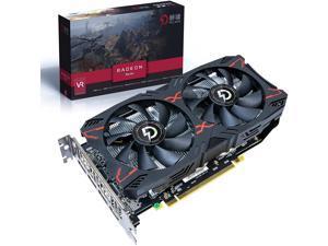 PELADN AMD Radeon RX 5500XT 8G GDDR6 Dual-Fan Edition HDMI DisplayPort Gaming Graphics Card