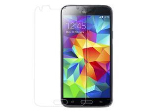 Iclover Samsung Galaxy S5 Tempered Glass Screen Protector Guard.
