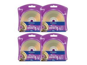 Verbatim LightScribe DVD+R 16x Recordable Blank Disc Printable Media 4.7GB/120min (96943) - 40 Pack