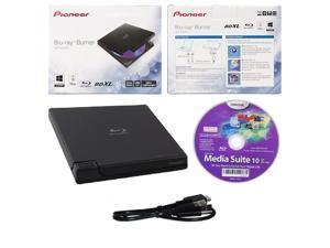 Pioneer 6x BDR-XD05B USB 3.0 Slim Portable  External Blu-ray CD DVD Burner Drive