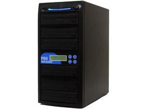 Produplicator 1 to 5 24X Burner CD DVD Duplicator - Standalone Copier Duplication Tower (ESDVDS24X05)