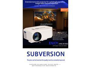 UC30 640x480 Mini LED Projector support HDMI AV VGA USB SD video input