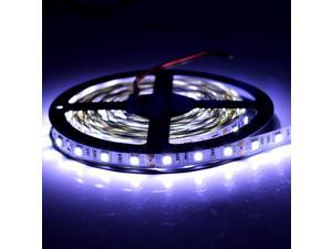 SuperNight® 5050 SMD 5M 300 LEDs Cool White Color Light Strip Flexible Bright 12V Lamp Non-Waterproof Indoor