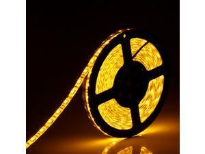 SUPERNIGHT 5M 5050 SMD 300 LEDs LED Yellow Light Strip LED Flexible IP65 waterproof Lamp 60 LEDs Per meter