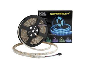 Supernight 16.4FT 5M SMD 5050 Waterproof 300LEDs RGB Color Changing Flexible LED Strip Light