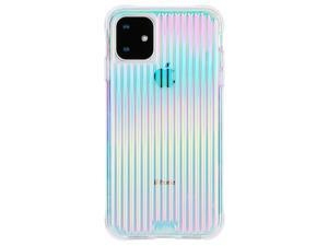 Case-Mate Tough Groove Case for iPhone 11 - Iridescent