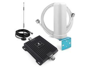 Phonetone 700MHz Cell Phone Signal Booster Band 12 & 17 4G LTE Data 65dB Cellular Repeater Amplifier Antenna for AT&T T-mobile