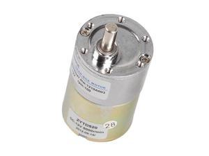 37mm 12V DC 100 RPM Gear-Box Speed control Electric Motor Low noise