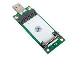 Mini PCI-e Wireless to USB Adapter card With SIM Card Slot Test WWAN module