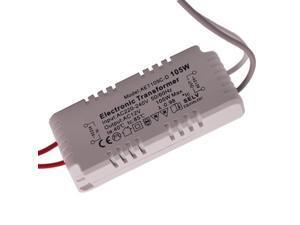 105W Driver Power Supply Electronic Transformer for G4/G5.3 Halogen Light Bulb