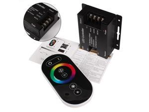 RGB LED Controller Remote Control Touch Panel DC12V-24V Max 18A 3 channels
