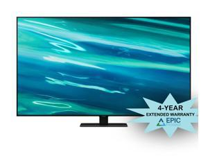 """Samsung QN85Q80AA 85"""" Class Ultra High Definition QLED 4K Smart TV with an Additional 4 Year Coverage by Epic Protect (2021)"""