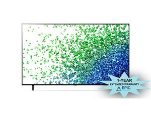 """LG 55NANO80UPA 55"""" NanoCell 4K NANO80 Series Smart Ultra HD TV with an Additional 1 Year Coverage by Epic Protect (2021)"""