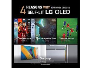 """LG OLED55GXP 55"""" OLED Gallery Design Smart 4K Ultra High Definition TV with an LG SN5Y 2.1 Channel DTS Virtual High Definition Soundbar and Subwoofer (2020)"""