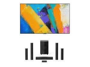 """LG OLED55GXP 55"""" OLED Gallery Design Smart 4K Ultra High Definition TV with Enclave EA-1000-THX-US CineHome Pro CineHub Edition 5.1Ch Speakers (2020)"""
