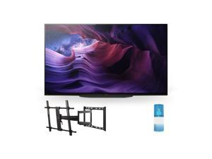 """Sony XBR-48A9S 48 Inch MASTER Series BRAVIA OLED 4K Smart HDR TV with a Walts TV Large/Extra Large Full Motion Mount for 43""""-90"""" Compatible TV's and a Walts HDTV Screen Cleaner Kit (2020)"""