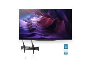 """Sony XBR-48A9S 48 Inch MASTER Series BRAVIA OLED 4K Smart HDR TV with a Walts TV Large/Extra Large Tilt Mount for 43""""-90"""" Compatible TV's and a Walts HDTV Screen Cleaner Kit (2020)"""