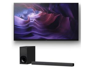 Sony XBR-48A9S 48 Inch MASTER Series BRAVIA OLED 4K Smart HDR TV with a Sony HT-G700 3.1 Channel Bluetooth Soundbar and Wireless Subwoofer (2020)