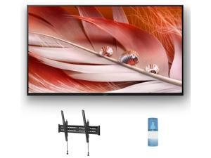 """Sony XR50X90J 50"""" 4K High Dynamic Range Bravia Smart TV with a Walts TV Large/Extra Large Tilt Mount for 43""""-90"""" Compatible TV's and a Walts HDTV Screen Cleaner Kit (2021)"""