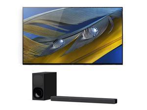 "Sony XR-55A80J 55"" OLED BRAVIA XR 4K Ultra HD Smart TV with a Sony HT-G700 3.1 Channel Bluetooth Soundbar and Wireless Subwoofer (2021)"