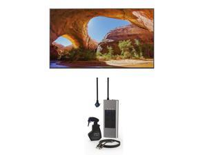 """Sony KD85X91J 85"""" 4K HDR Full Array LED Smart TV with an Austere 3S-COL2-2-5M Surge Protector, 2.5m HDMI Cable, and Screen Cleaner (2021)"""