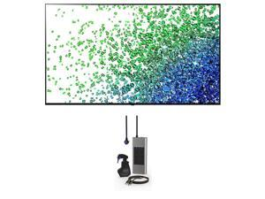 """LG 75NANO80UPA 75"""" NanoCell 4K NANO80 Series Smart Ultra HD TV with an Austere 3S-COL2-2-5M Surge Protector, 2.5m HDMI Cable, and Screen Cleaner (2021)"""
