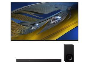 "Sony XR-55A80J 55"" OLED BRAVIA XR 4K Ultra HD Smart TV with a Sony HT-Z9F 3.1 Channel Bluetooth Built-In Wi-Fi Dolby Atmos Soundbar (2021)"