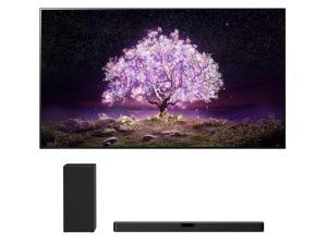 """LG OLED55C1PUB 55"""" 4K Ultra High Definition OLED Smart C1 Series TV with an LG SN5Y 2.1 Channel DTS Virtual High Definition Soundbar and Subwoofer (2021)"""