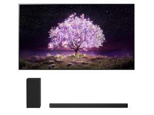"""LG OLED55C1PUB 55"""" 4K Ultra High Definition OLED Smart C1 Series TV with an LG SN6Y 3.1 Channel DTS Virtual High Resolution Soundbar and Subwoofer (2021)"""