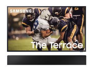 "Samsung QN75LST7TA The Terrace 75"" QLED TV w/ a Samsung HW-LST70T Soundbar Bundle (2020)"