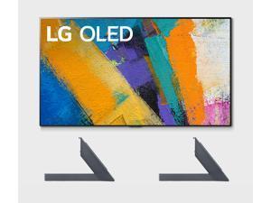"LG OLED55GXP 55"" OLED TV w/ a LG AN-GXDV55 OLED GX 55"" Furniture & Shelf Top TV Stand Mount Bundle (2020)"