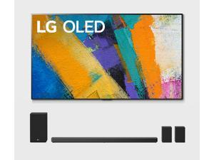 "LG OLED77GXP 77"" 4K OLED Smart Gallery TV with a LG SN11RG 7.1.4 Ch Sound Bar with Surround Sound Speakers and Subwoofer Bundle (2020)"