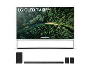 "LG OLED88Z9P 88"" 8K OLED TV with a LG SN11RG 7.1.4 Ch Sound Bar with Surround Sound Speakers and Subwoofer Bundle (2019)"