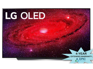 "LG OLED77CXP 77"" Self Lighting OLED TV w/ an Additional 4 Year Coverage by Epic Protect Bundle (2020)"