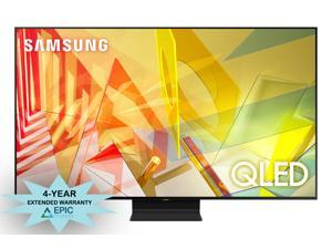 """Samsung QN65Q90TA 65"""" 4K Ultra High Definition Smart QLED TV with an Additional 4 Year Coverage by Epic Protect Bundle (2020)"""