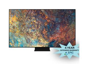 """Samsung QN75QN90AA 75"""" Neo QLED QN90AA Series 4K Smart TV with an Additional 4 Year Coverage by Epic Protect (2021)"""