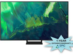 """Samsung QN55Q70AA 55"""" Class UHD High Dynamic Range QLED 4K Smart TV with an Additional 1 Year Coverage by Epic Protect (2021)"""