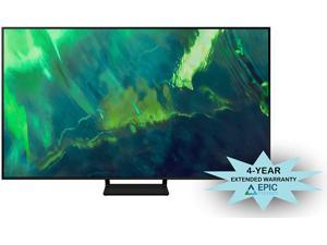 """Samsung QN85Q70AA 85"""" Class UHD High Dynamic Range QLED 4K Smart TV with an Additional 4 Year Coverage by Epic Protect (2021)"""