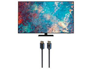 """Samsung QN75QN85AA 75"""" QN85AA Series Neo QLED 4K UHD Smart TV with an Austere V Series 4K HDMI Cable 2.5m (2021)"""