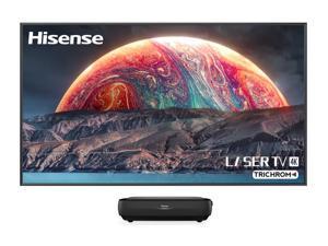 "Hisense 120L9G-CINE120A 4K TriChroma Smart Laser TV With 120"" Soft-Screen (2021)"