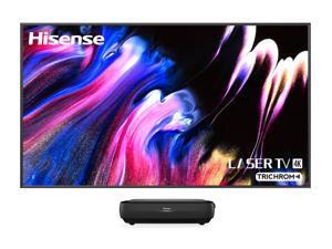 "Hisense 100L9G-CINE100 4K TriChroma Smart Laser TV With 100"" Soft-Screen (2021)"