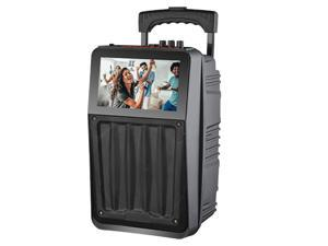 """Supersonic 8"""" Rechargeable Speaker System with 8"""" Touchscreen IQ-8008K"""