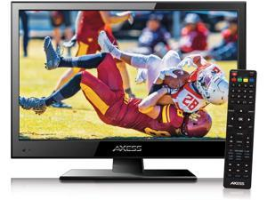 Axess 15.6-Inch LED HDTV, Includes AC/DC TV/ DVD Player, HDMI/SD/USB Inputs, TVD1805-15
